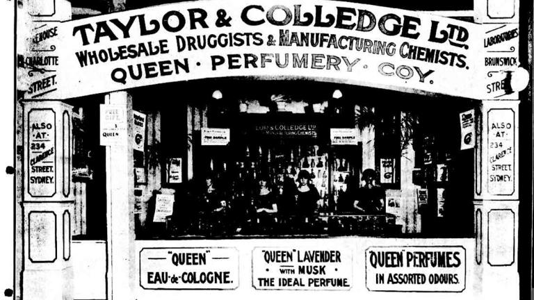 Queen's 1922 display at the Ekka.