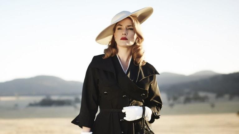 Nominated: Kate Winslet in <i>The Dressmaker</i>.
