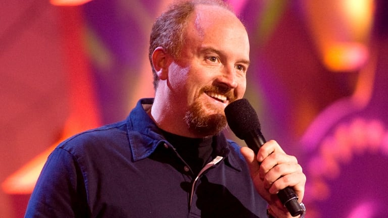 US comedian Louis C.K. became famous for his stand-up and television show.