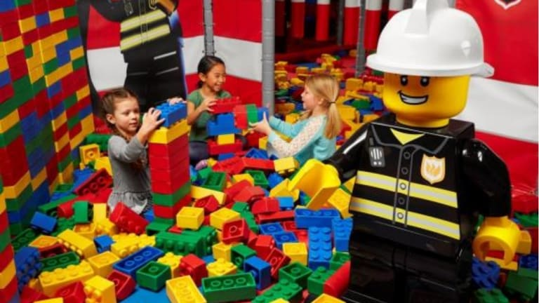 Legoland discovery centres are designed to appeal to three-to-10-year-olds.
