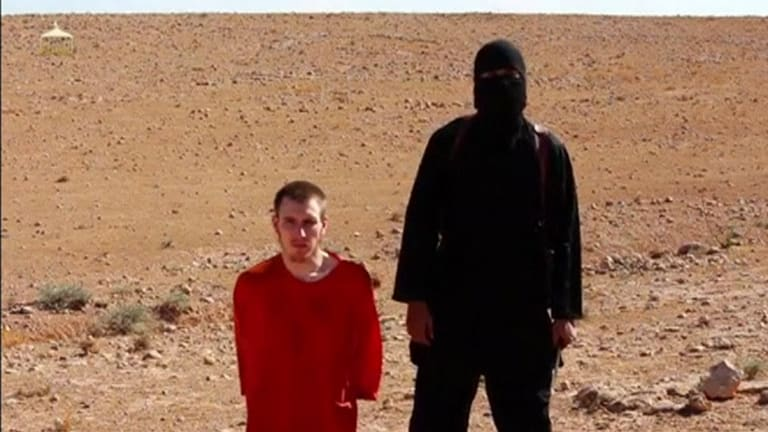 Peter Kassig before his beheading by Jihadi John. Kassig was taken to Dabiq to link his murder to an Islamic prophecy.