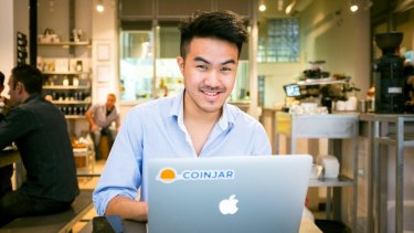 """""""Digital coins are very much in vogue now,"""" said Asher Tan, CEO of CoinJar Bitcoin exchange."""