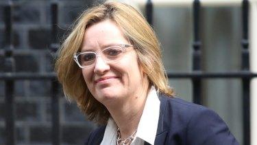 Amber Rudd, UK energy secretary.
