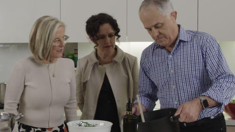 Election 2016: Malcolm Turnbull opens up on leadership on Kitchen ...