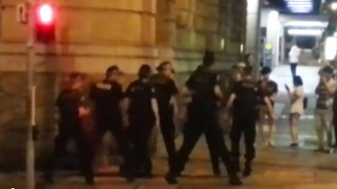 G20 Brisbane: Dancing Queensland police bust out Nutbush City Limits