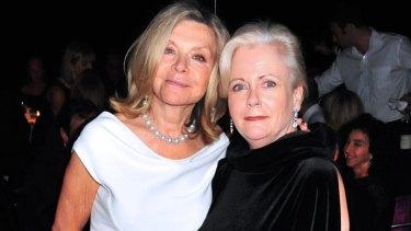 Carla Zampatti (left) and Julie Ann Morrison