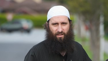 Harun Mehicevic, leader of the closed al-Furqan Islamic Centre.