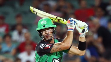 Big hitter: Kevin Pietersen in action for the Stars.