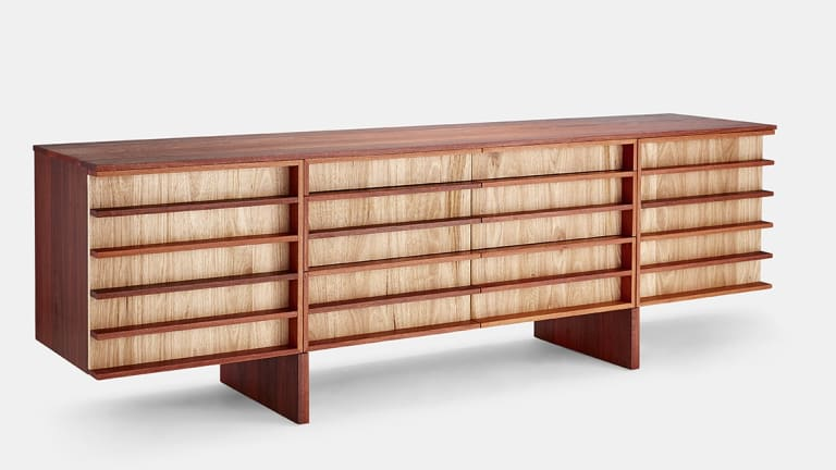 Manapan's Linear sideboard, designed by Ashleigh Parker.