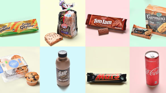 Tim Tams or Oat Slice? Which of these foods has the most sugar?