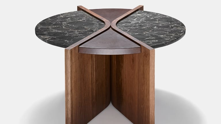 Fossil Coffee Table Designed By Liz Doube