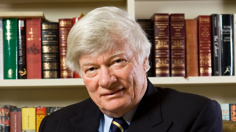 Geoffrey Robertson was intrigued and impressed by Dickens' lawyer character, Mr Jaggers.