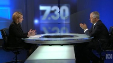 Prime time interviews such as Leigh Sales going head to head with Prime Minister Malcolm Turnbull could be shunted back later in the ABC schedule.
