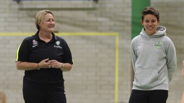 """Canberra United coach Rae Dower was """"disappointed"""" about the move away from McKellar."""