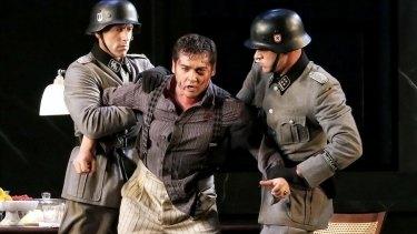 Teodor Ilincai as Cavaradossi in Opera Australia's production of <i>Tosca</i>.