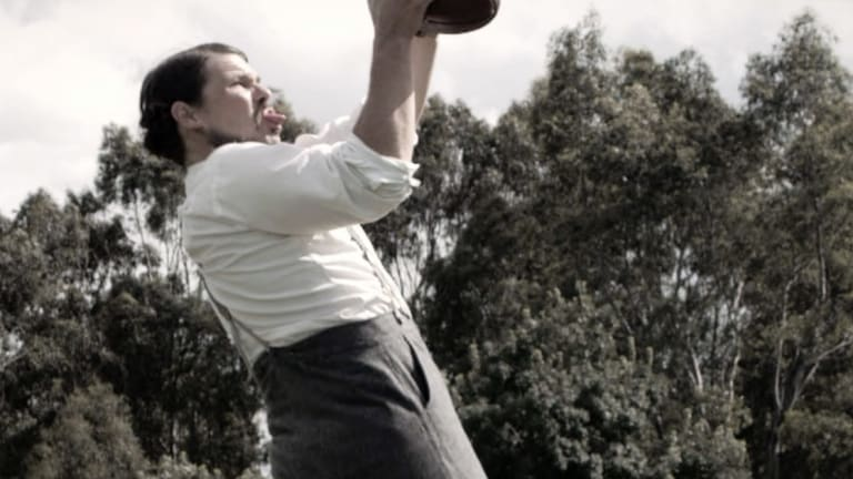 Nathan Phillips plays Tom Wills in the documentary.
