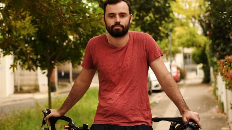 Doug Williams worked as a cycle courier for Deliveroo last year.