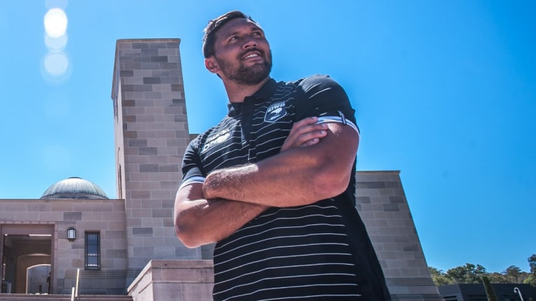 Playing for New Zealand means the world to Jordan Rapana.