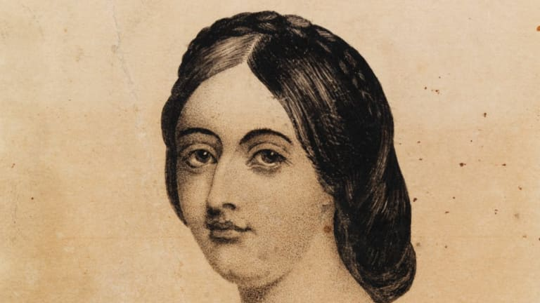 Harriet Scott, 1863, was still actively repelling suitors at 36, preferring the freedom of island life to marriage.