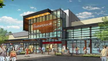 Plans for the new development proposed for Hibberson Street in Gungahlin.