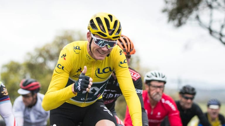 Chris Froome has some explaining to do.