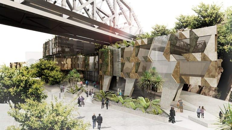 Howard Smith Wharves development plans at Story Bridge revealed