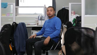 'Beijing's house prices are too high, I can't afford it': real estate agent Shen Kun.
