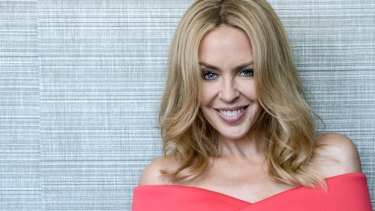 Kylie Minogue in Sydney for the silly season.
