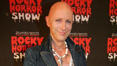 The Rocky Horror Show creator Richard O'Brien.