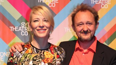 "Cate Blanchett, with husband Andrew Upton, came up with the idea of a ""cultural ribbon"" linking Sydney's arts institutions."
