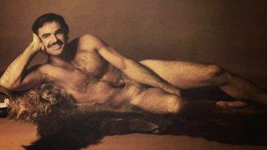 Burt Reynolds in the 1972 centrefold.