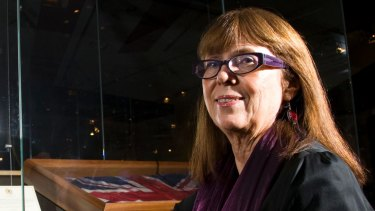National Museum of Australia senior curator Carol Cooper has helped identify master carvers.