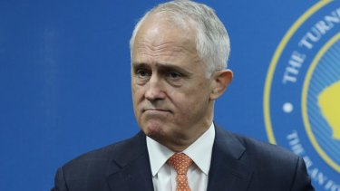 Prime Minister Malcolm Turnbull remains the popular choice as preferred prime minister at 48 per cent to 34.
