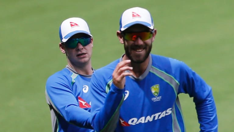 """""""I think he could train a little bit smarter"""": Steve Smith on Glenn Maxwell's consistency."""