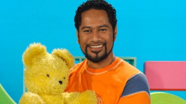 Different tack: Play School presenter Jay Laga'aia is going into the jungle.