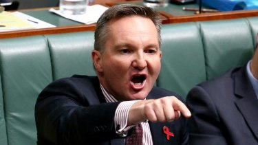 "Shadow treasurer Chris Bowen has accused Scott Morrison of crying ""crocodile tears"" over renters."