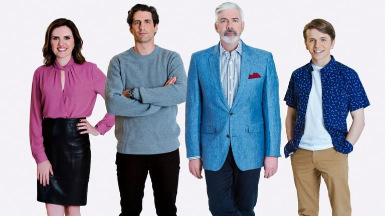 Talkin' 'Bout Your Generation: Robyn Butler, Andy Lee, Shaun Micallef and Laurence Boxhall.