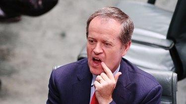 Shorten's sweet: The opposition leader has leapt ahead of Tony Abbott in the latest Fairfax Ipsos poll.