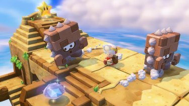 Without the ability to jump or move quickly, regular Mario environments become puzzles, and regular enemies become legitimate threats.