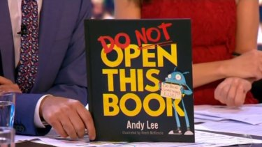 The book has had mixed reviews from his friends' children, Andy Lee said.