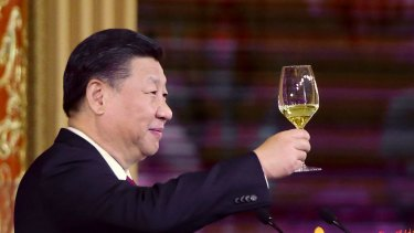 China's President Xi Jinping has a lot to cheer about with Donald Trump.