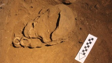 ANU archaeologist Sue O'Connor has found the world's oldest funeral fish hooks.