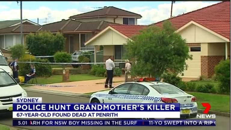 The teenage grandson of a 67-year-old woman found dead in her South Penrith home has been arrested over her murder.