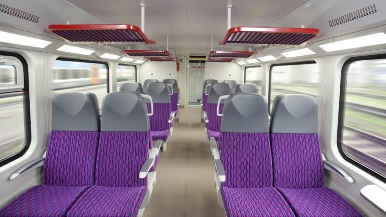 $2.8 billion intercity trains on track for comfort
