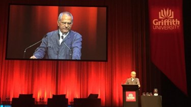 Sharing oil and gas reserves in Timor Sea with East Timor would only make Australia greater, Dr Jose Ramos-Horta said in Brisbane.
