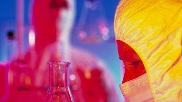 A drug laboratory.