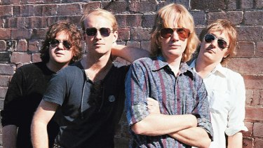 The Saints: Chris Bailey, Ivor Hay, Kym Bradshaw and Ed Kuepper.
