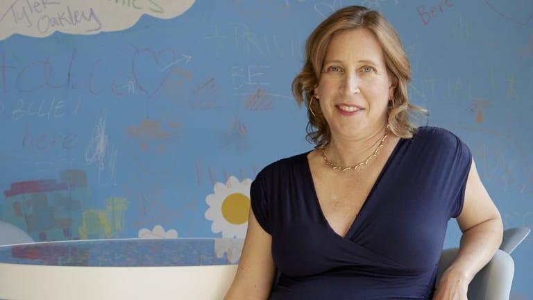 Susan Wojcicki, the chief executive of YouTube.