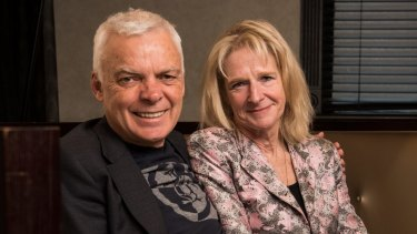 Husband and wife authors Graeme Simsion and Anne Buist: Literary collaborators on a tale about late blooming love on the Camino Way.