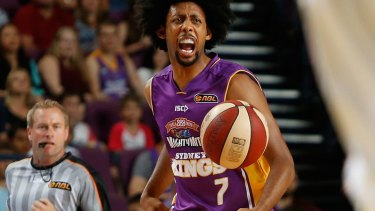 Out: Sydney Kings star Josh Childress.